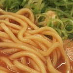 56141582 - らーめん赤味噌麺アップ