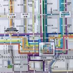 56143854 - バス路線図