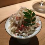 鮨 行天 - 黄金蟹