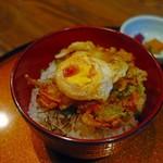 56145879 - かき揚げ丼めっちゃ美味しいです(^^)