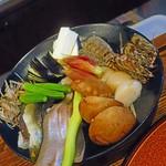 56145911 - この日の天ぷらの食材を説明してくれます(^^)