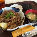 蜂の家 - 料理写真:牛カルビ丼  おいしく頂きました (*´ڡ`●)