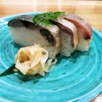 寺町 西むら - 7】鯖寿司(7月の税別7000円コース)
