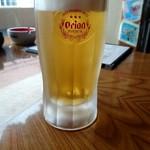 仲本食堂 - 生ビール