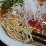 さあれ - 中太麺ストレートがトマトのスープにベストマッチ