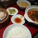 中国料理 兆楽 - マーボー豆腐定食♪