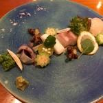 島野菜と日本酒 びがすり - 本日の一皿