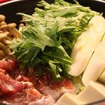 昆布だしで味わう九州鶏の水炊き