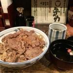 牛の力 - 東京牛丼 大盛 ¥780