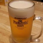 56156262 - ぎょうざの満洲 上尾東口店 生ビール
