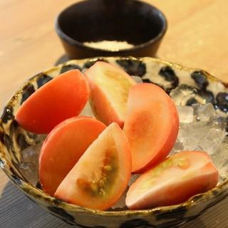 -196℃のフルーツトマト