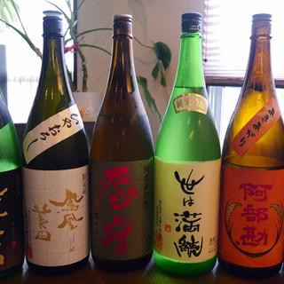料理に合わせた美味しい純米酒が楽しめます。