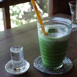 茂庵 - アイス抹茶ラテ?