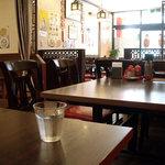 栄華楼 - 「栄華楼 上野店」テーブル席
