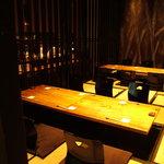 豆家茶寮 - 12名~20名様はこちらのお席でゆるりとお過ごし下さい。