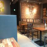 J.S. BURGERS CAFE - 店内