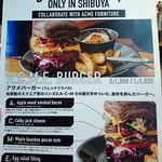 J.S. BURGERS CAFE - 渋谷限定メニュー