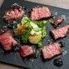 ノワ・ド・ココ - 料理写真:ノワドココ流は熱々のご飯と一緒ローストビーフを味わう