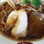 中華そば 福味 - 低温調理のチャーシュー