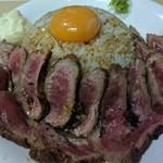 バラード - 牛ロースト御飯(ランチのみ)