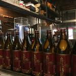 キズナ - お酒の種類は多い
