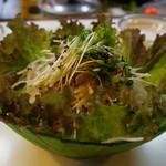 かしらややきとり店 - 和風サラダ