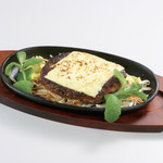 かつ龍 - 料理写真:チーズおろしハンバーグ