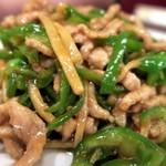 天天飯店 - 青椒肉絲