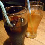 山形牛焼肉 くろべこ - アイスコーヒー&アイスティー