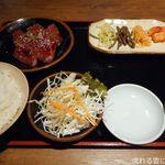 山形牛焼肉 くろべこ - ハラミ定食