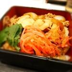 吉野家 - たとえ松茸でも紅生姜!