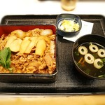 吉野家 - 松茸牛丼セット¥730