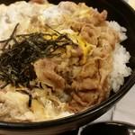 松屋 - 牛とじ丼アップ!