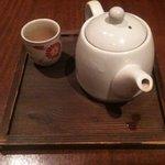 ロージン - まずはお茶が登場