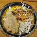 麺屋一樹 - 北海道味噌 辛ねぎ 炙りチャーシュー
