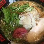 あ - うめ冷やし鶏塩麺