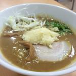 56183779 - カレーラーメン+生ニンニク