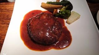 トミーグリル - 葡萄牛のハンバーグ