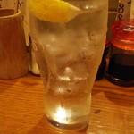 あべちゃん - レモンサワー 410円