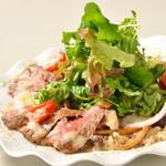 レストラン ビブ - ◆特別栽培玄米サラダ丼