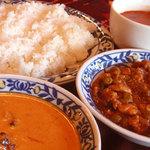 印度料理シタール - お得なランチは11:30~15:00。土日もやっています。
