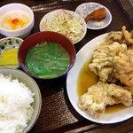 ふじ - ザンギ定食・タレ