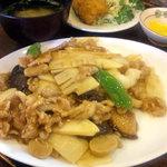 ふじ - 八宝菜定食