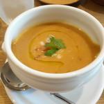 森のアルム - ポルロッティ豆のスープ