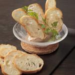 ケンゾーエステイトワイナリー - 国産鶏レバーのスモークムース ¥1,500-
