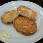 56191757 - 黒蜜ときな粉のフレンチトースト
