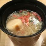 築地寿司清 - 味噌汁