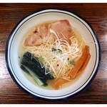 拉麺 阿吽 - 「塩拉麺」… 透き通ったスープが絶品!(2016.06)