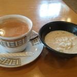 インディアン・レストラン ロタ - 冬瓜をミルクで煮たスイーツ♪