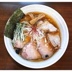 麺や真登 - 「鶏だし醤油チャーシュー」(2016.06)